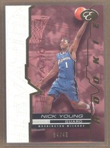 Nick Young 2007-08 Bowman Elevation Red LA Lakers /49 RC Rookie Card Swaggy P - $7.55