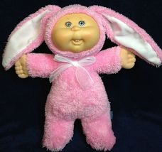 CPK Cabbage Patch Kids Cuties RARE Baby Bunny Doll Teeth Pink Costume Ja... - $59.99