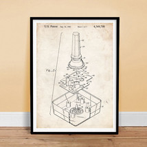 "Atari Video Game Joystick Invention 18x24"" Patent Art Poster Print 1982 Art Gift - $18.78"