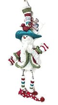 Knick Knackeries Sparkle Snowman Ornament by Holly Adler - $25.00