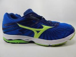 Mizuno Wave Sayonara 4 Size US 14 M (D) EU 48.5 Men's Running Shoes Blue Green