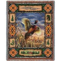 Pheasant Lodge Throw - 70 x 54 Blanket/Throw - $48.95