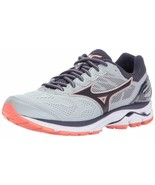 MIZUNO WAVE RIDER 21 WOMEN'S RUNNING SHOES HIGH RISE/GRAY STONE - $80.99