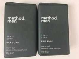 Method Men Sea + Surf Bar Soap 2x New Discontinued - $28.01