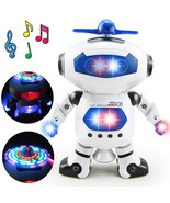BOHS Space Dancer Humanoid Robot Toy With Light Children Pet Brinquedos ... - $18.88