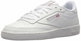 Reebok Women's Club C 85 Running Shoe 10.5 White/silver/black - $58.87