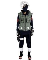 Naruto Kakashi Hatake Cosplay Costume - $79.00