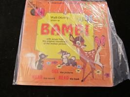 Disneyland Follow Along Record & Book    Bambi - $7.70