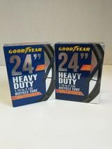"2x New Good Year 24"" Heavy Duty 24"" 1.75"" x 2.125"" Bicycle Tire Inner Tube  - $12.84"