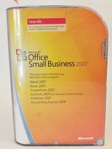 Microsoft Office Small Business 2007 UPGRADE 2 Discs, Product Key MS SBE - $27.12