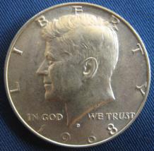 """(4) 1968 """"D"""" Kennedy Half Dollar - 40% Silver - (sku#4873) - $9.99"""