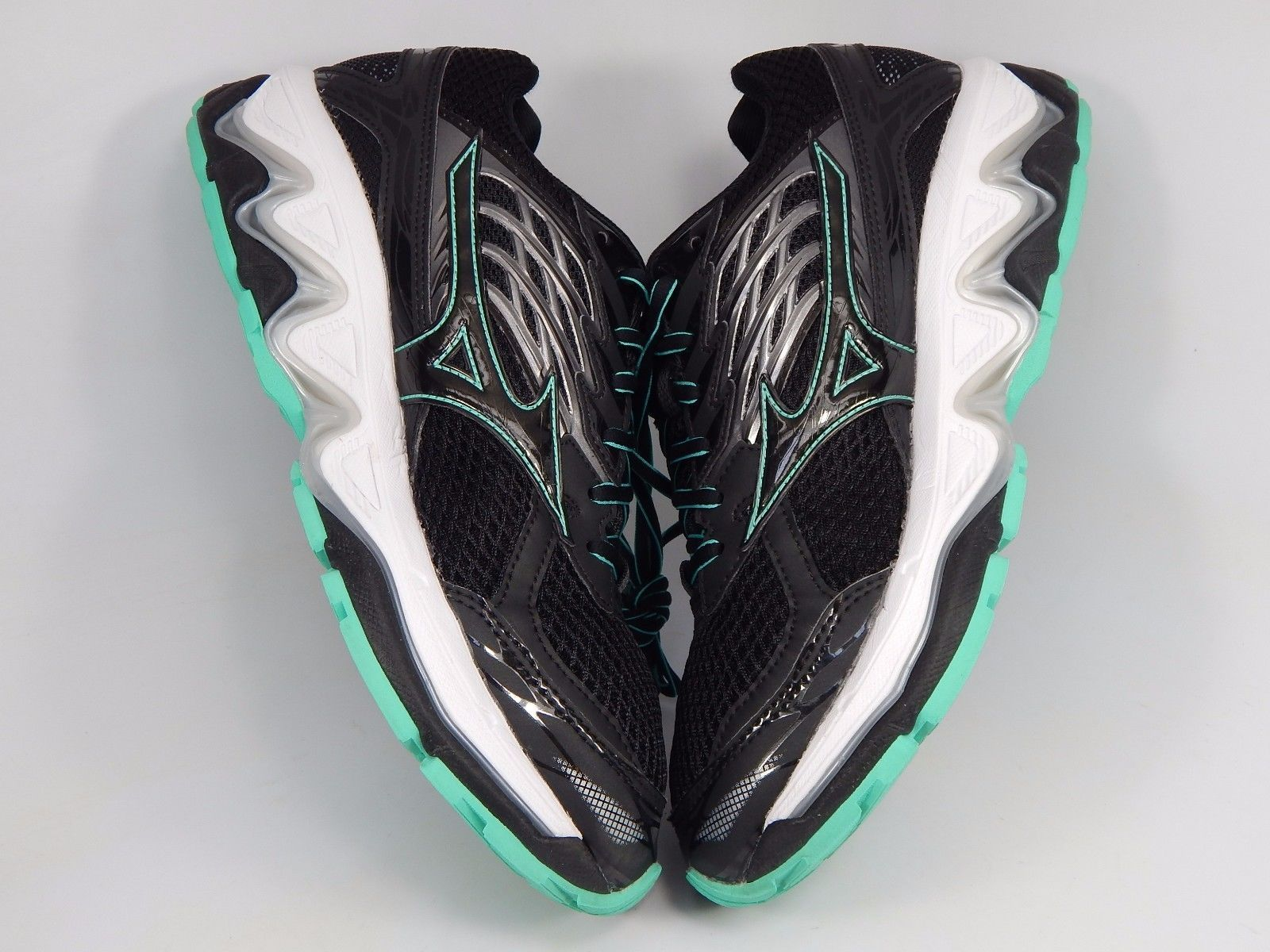 Mizuno Wave Paradox 3 Women's Running Shoes Size US 10 M (B) EU 41 Black Green