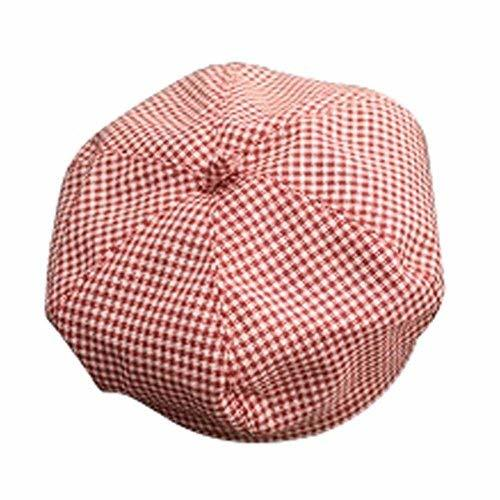 Baby Girl Hat RED Hat Sun Hat Infant Cotton Cap Toddler Beret Cap Great Gift