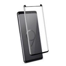 Samsung Galaxy S9 Plus 3D Curved Full Coverage Tempered Glass Screen Protector - $8.22
