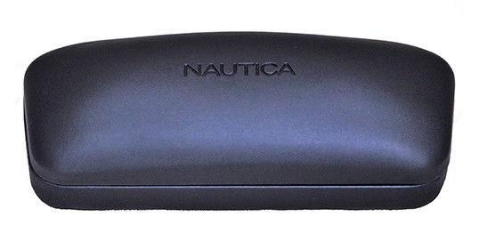 f367217508 Nautica POLARIZED Men s Matte Gunmetal Navigator Sunglasses N5108S 033