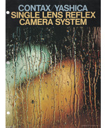 Contax/Yashica Single Len Reflex Camera System Fold Out Poster Brochure - $4.00