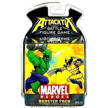 NEW Attacktix 2006 Marvel Heroes Series Battle Figure Game Booster Pack ... - $21.99