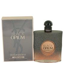 Yves Saint Laurent Black Opium Floral Shock 3.0 Oz Eau De Parfum Spray image 3