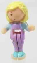 1995 Vintage Polly Pocket Doll Swinging Pretty - Polly Bluebird Toys - $6.50
