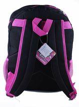 Hello Kitty Animal Print School Backpack Leopard Zebra Purple Blue Pink Black image 3