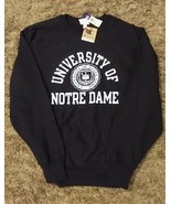 Classic Champion NotreDame Collegiate Sweatshirt in Sz 3X New with Tags - $29.69