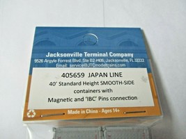 Jacksonville Terminal Company # 405659 Japan Line 40' Standard Container (N image 2