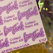 Lisa Frank Vintage 90s Mini Happy Face Smile Flowers Complete Sticker Sheet S757 image 3