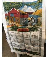 1978 Calendar Tea Towel The Old Mill - $5.89