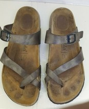 Birkenstock Betula Brown Toe Ring Thong Sandals Size 39 Women's 8 A US - $39.58