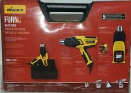 Wagner 0503086 Furno 700 Plus Heat Gun 117 Settings Kit Corded New in Box image 2