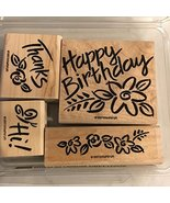 Stampin' Up! Bold Blossom Greetings Stamp Set - $39.99