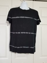 American Eagle Outfitters Men's AE Dye Effect T-shirt Black Size M NWT - $265,90 MXN