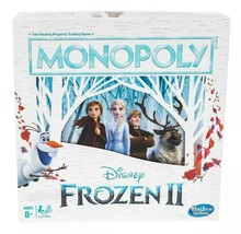 HASBRO Monopoly: Disney Frozen 2 Edition Board Game NIB/Sealed - $21.99