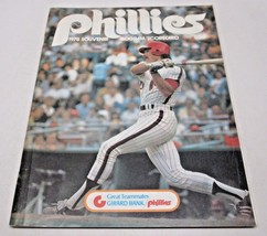 1978 Philadelphia Phillies Souvenir Program and Scorecard - $9.90