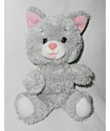 Build a Bear Smallfrys Grey Cat Kitten Plush Stuffed Animal Small Fry Pi... - $11.84