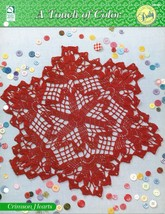 Crochet Pattern - Crimson Hearts - A Touch Of Color - House Of White Birches - $2.96