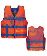Full Throttle Character Life Vest - Youth 50-90lbs - Orange - $40.82