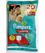 Pampers Baby Dry Pants Small Size 4-8 KGS (2pc) Free Shipping - $5.99+