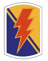 US Army 79th Infantry Brigade Combat Team 12'' Sticker Military Forces - $24.74