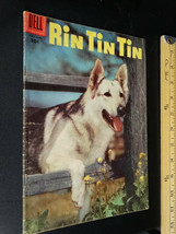 Dell Vintage Rin Tin Tin 1956 Comic in Pre-owned Condition - $10.89