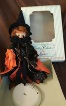 Vintage Effanbee Doll 1992 Holidays Of The Year Series HALLOWEEN Witch M... - $18.00