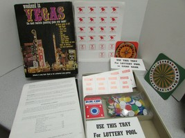 VTG GAME WEEKEND IN VEGAS RESEARCH GAMES #711 1974 COMPLETE - $5.44