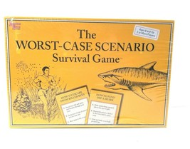 The Worst Case Scenario Survival Game University Games 2001 NEW SEALED - $39.55