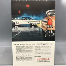 Vintage Magazine Ad Print Design Advertising Lincoln Automobiles - $12.86