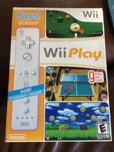 Wii Play With Bonus Remote - $60.00