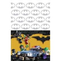 Batman Lego Plastic Tablecover 54 x 96 Border Print - £6.60 GBP