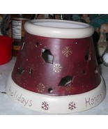 Yankee Candle Happy Holidays Medium/Large Jar Shade - $14.00
