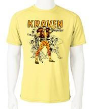 Kraven Hunter Dri Fit graphic Tshirt moisture wicking superhero comic SPF tee image 2