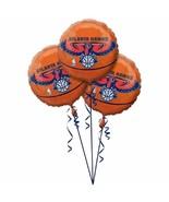 Atlanta Hawks NBA Pro Basketball Sports Banquet Party Decoration Mylar B... - $13.17
