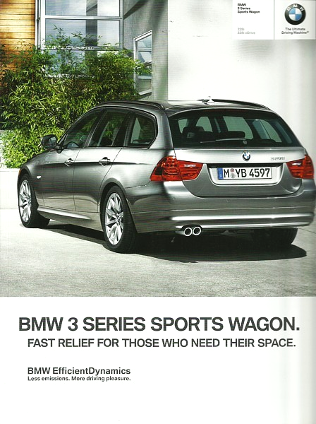 2012 BMW 3-SERIES Wagon brochure catalog US 12 328i xDrive
